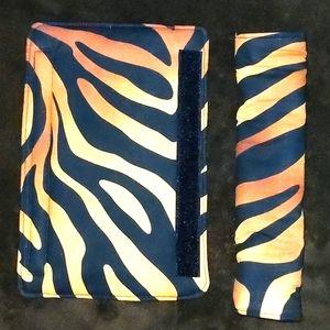 Tiger Print Car Seat Belt Cover Pad NEW